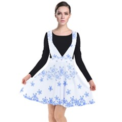 Blue And White Floral Background Other Dresses