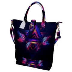 Abstract Desktop Backgrounds Buckle Top Tote Bag
