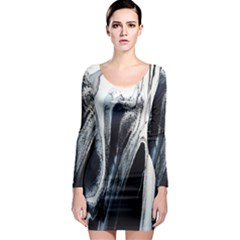 Odin s View 2 Long Sleeve Bodycon Dress