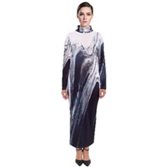 Odin s View 2 Turtleneck Maxi Dress
