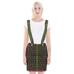 Summer Time Is Over And Cousy Fall Season Feelings Are Here Braces Suspender Skirt