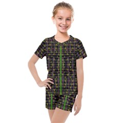 Summer Time Is Over And Cousy Fall Season Feelings Are Here Kids  Mesh Tee And Shorts Set by pepitasart
