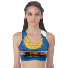 Flag Map Of Georgia, 2001 2003 Sports Bra