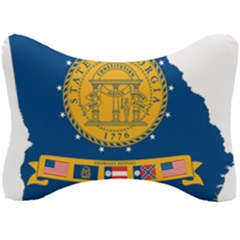 Flag Map Of Georgia, 2001 2003 Seat Head Rest Cushion
