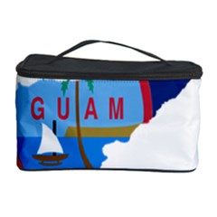 Flag Map Of Guam Cosmetic Storage