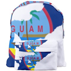 Flag Map Of Guam Giant Full Print Backpack