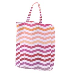 Abstract Vintage Lines Giant Grocery Tote