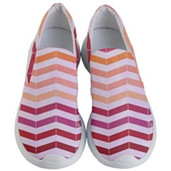 Abstract Vintage Lines Women s Lightweight Slip Ons
