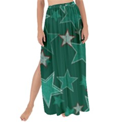 Star Seamless Tile Background Abstract Maxi Chiffon Tie Up Sarong