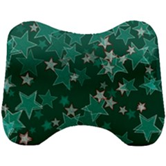 Star Seamless Tile Background Abstract Head Support Cushion by Jojostore
