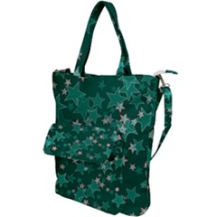 Star Seamless Tile Background Abstract Shoulder Tote Bag