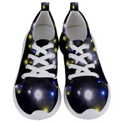 Abstract Dark Spheres Psy Trance Women s Lightweight Sports Shoes