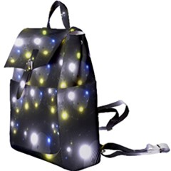 Abstract Dark Spheres Psy Trance Buckle Everyday Backpack
