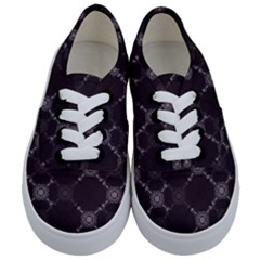 Abstract Seamless Pattern Kids  Classic Low Top Sneakers