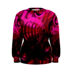 Abstract Bubble Background Women s Sweatshirt
