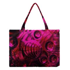 Abstract Bubble Background Medium Tote Bag by Jojostore