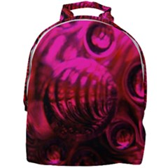 Abstract Bubble Background Mini Full Print Backpack