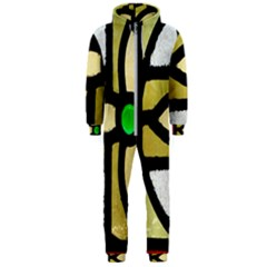 A Detail Of A Stained Glass Window Hooded Jumpsuit (men)  by Jojostore