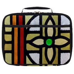 A Detail Of A Stained Glass Window Full Print Lunch Bag by Jojostore