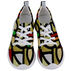 A Detail Of A Stained Glass Window Women s Lightweight Sports Shoes