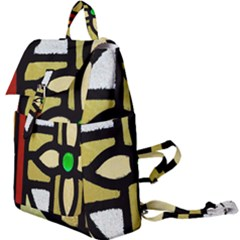 A Detail Of A Stained Glass Window Buckle Everyday Backpack