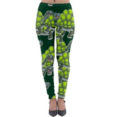 Seamless Tile Background Abstract Turtle Turtles Lightweight Velour Leggings