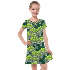 Seamless Tile Background Abstract Turtle Turtles Kids  Cross Web Dress