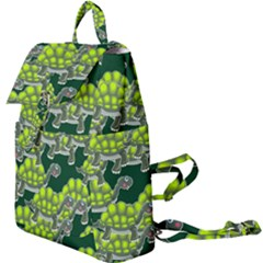 Seamless Tile Background Abstract Turtle Turtles Buckle Everyday Backpack