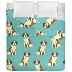 Dog Animal Pattern Duvet Cover Double Side (california King Size)