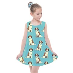 Dog Animal Pattern Kids  Summer Dress by Jojostore
