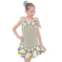 Tech Neon And Glow Backgrounds Psychedelic Art Psychedelic Art Kids  Tie Up Tunic Dress