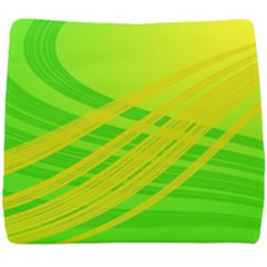 Abstract Green Yellow Background Seat Cushion by Jojostore