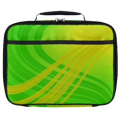 Abstract Green Yellow Background Full Print Lunch Bag by Jojostore