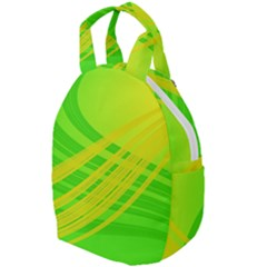 Abstract Green Yellow Background Travel Backpacks by Jojostore