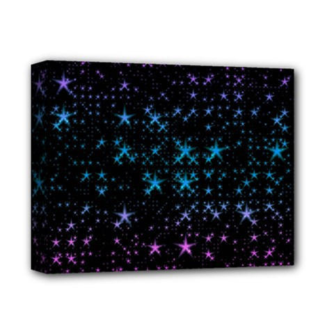 Stars Pattern Seamless Design Deluxe Canvas 14  X 11  (stretched)