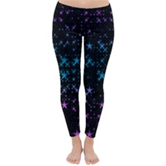 Stars Pattern Seamless Design Classic Winter Leggings by Jojostore