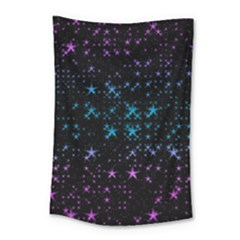 Stars Pattern Seamless Design Small Tapestry
