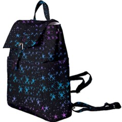 Stars Pattern Seamless Design Buckle Everyday Backpack