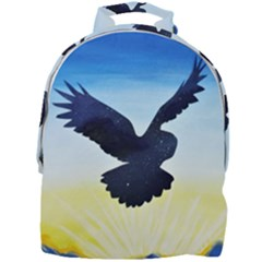 Sunset Owl Mini Full Print Backpack