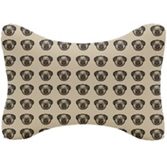 Puppy Dog Pug Pup Graphic Seat Head Rest Cushion
