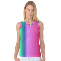 Abstract Paper For Scrapbooking Or Other Project Women s Basketball Tank Top