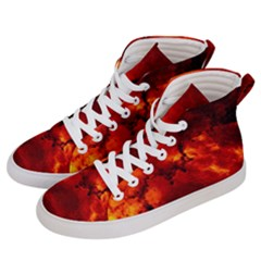 Star Clusters Rosette Nebula Star Men s Hi Top Skate Sneakers by Jojostore