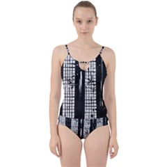 Whitney Museum Of American Art Cut Out Top Tankini Set