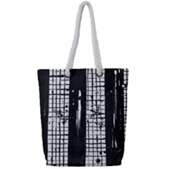 Whitney Museum Of American Art Full Print Rope Handle Tote (small)