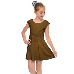 Abstract Background Kids Cap Sleeve Dress