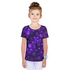 Bokeh Background Texture Stars Kids  One Piece Tee
