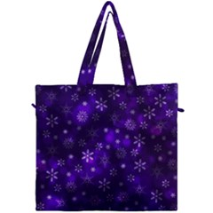 Bokeh Background Texture Stars Canvas Travel Bag