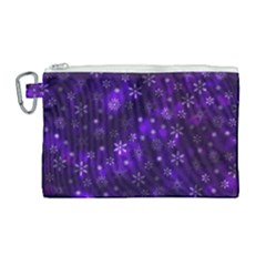 Bokeh Background Texture Stars Canvas Cosmetic Bag (large)