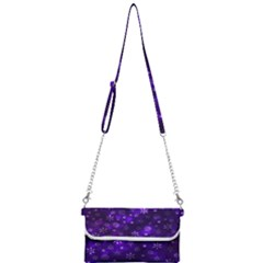 Bokeh Background Texture Stars Mini Crossbody Handbag by Jojostore