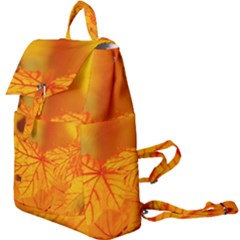Bright Yellow Autumn Leaves Buckle Everyday Backpack